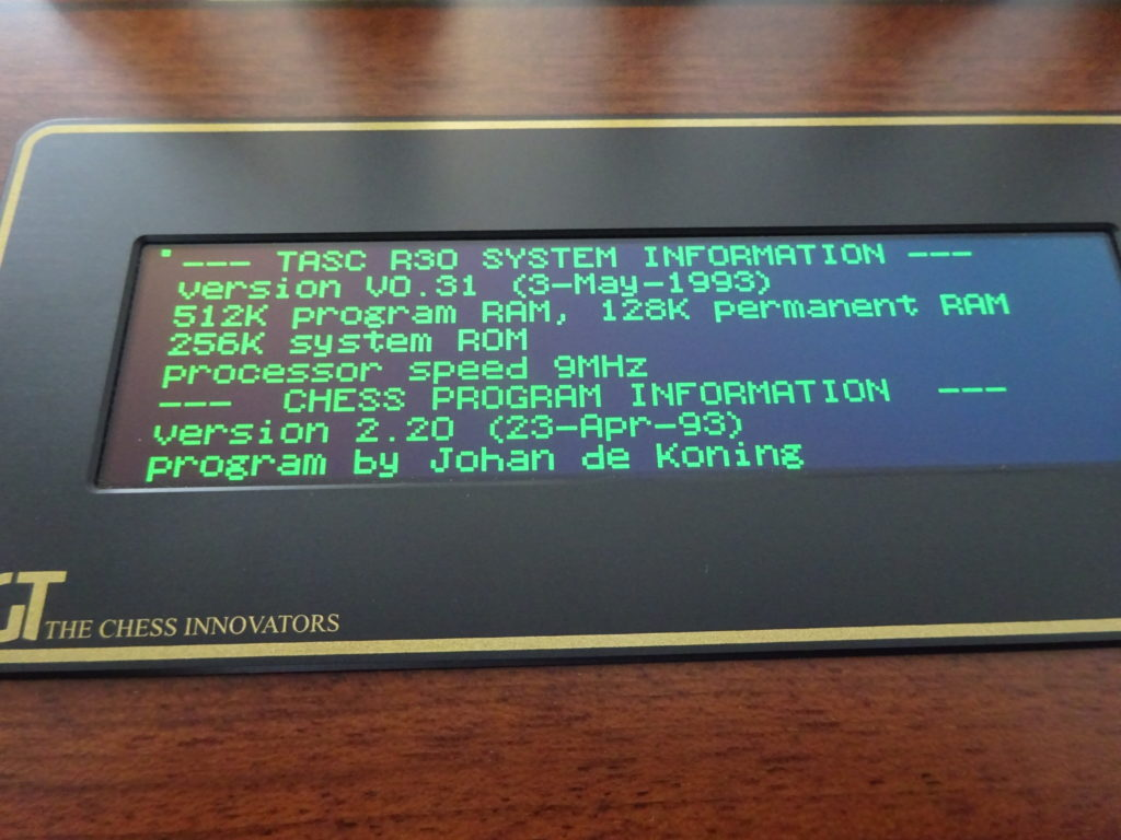 DGT Revelation Anniversary Edition TASC Emulation