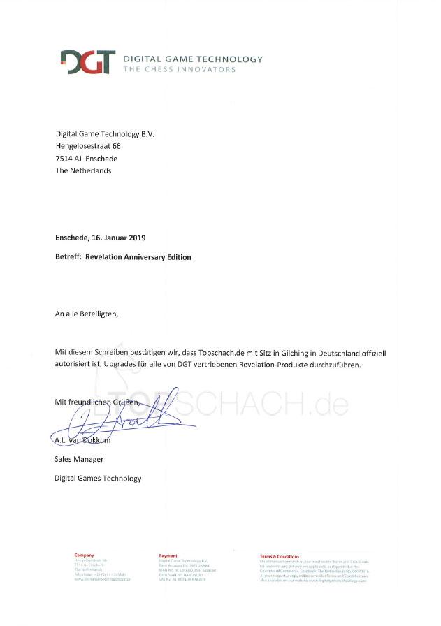 Topschach.de Autorisierung DGT
