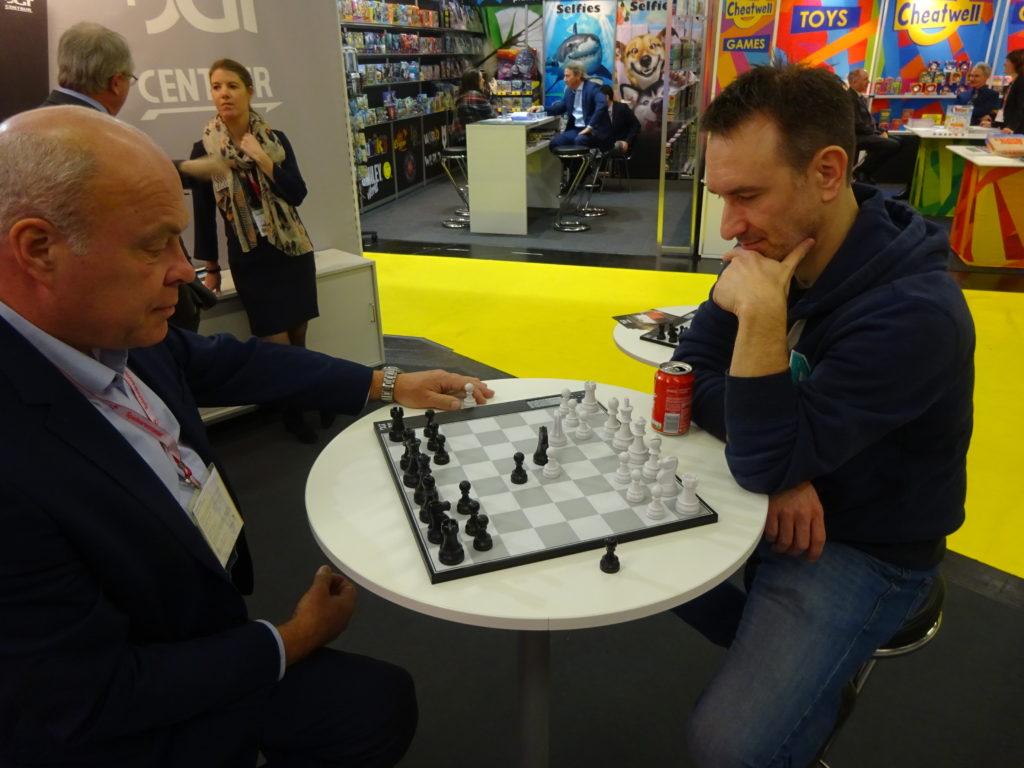 DGT Centaur gegen André Krupke.