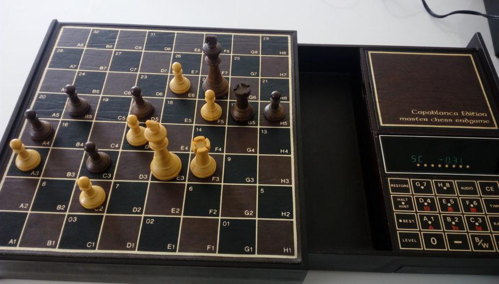 Chafitz Modular Game System Capablanca Endspiel Modul