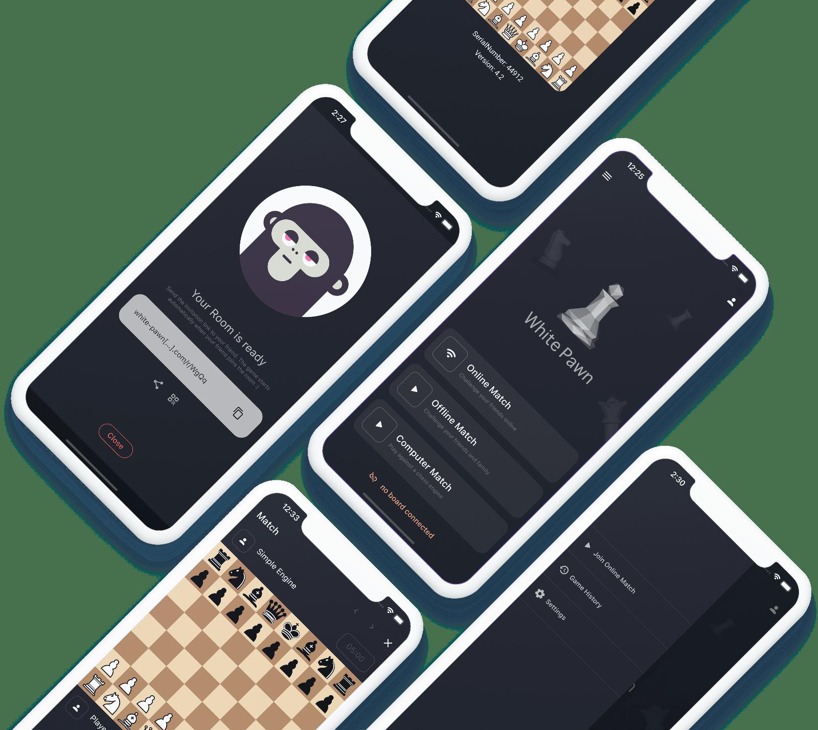 WhitePawn DGT App