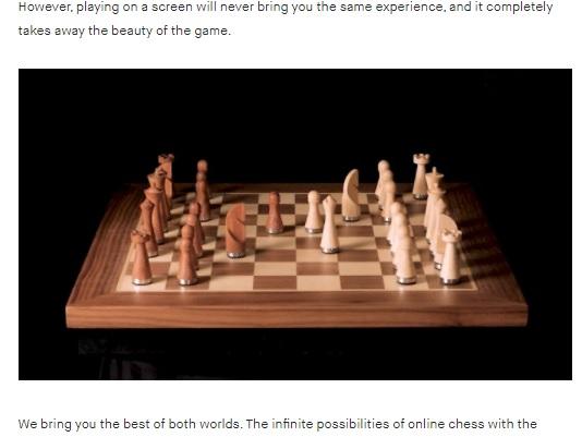 PHANTOM. The Robotic Chessboard